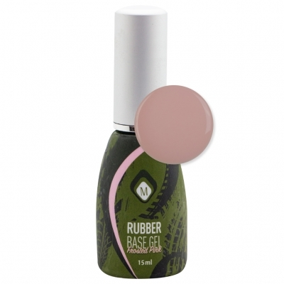 Гель Rubber Base Frosted Pink 15 гр.