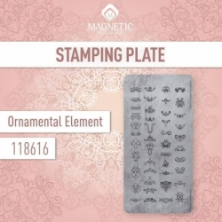 Пластина для стемпинга Ornamental Ellements